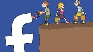 Facebook-śmieci