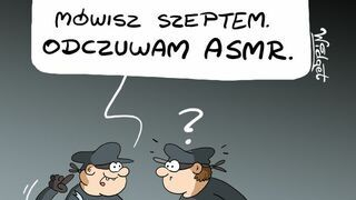 ASMR dreszcze