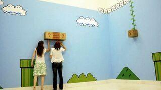 Mario w pokoju