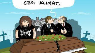 Metal na pogrzebie