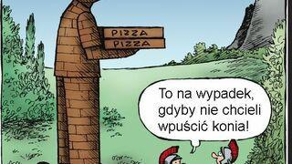 Trojański dostarczyciel pizzy.
