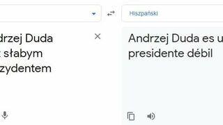 Prezydenckie tłumaczenie