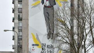 Mural Stanisława Anioła