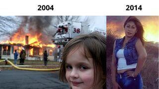 Disaster girl - Zobacz jak sięzmieniła!