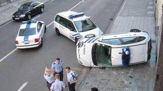 Wypadek Policji
