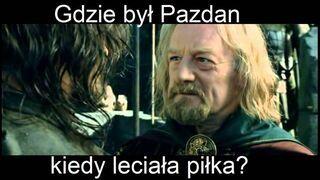 Gdzie był Pazdan...