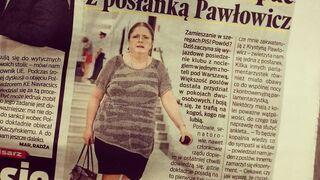 """""""Nikt nie chce spać z posłanką Pawłowicz"""""""