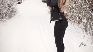 Zima w Szwecji