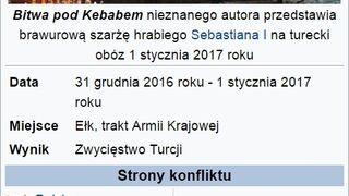 Bitwa pod kebabem w Ełku