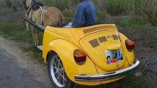 Rydwan z Porsche