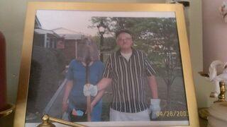 Takie tam: Zdjęcie z żoną