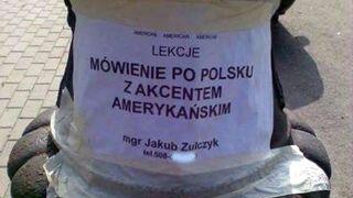 Lekcje: Mówienie po polsku z akcentem amerykańskim
