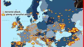 Ataki terrorystyczne w Europie od 2001 roku