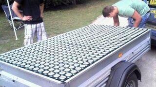 Przyczepka z piwem