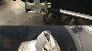 """Kobieta przyjechała do warsztatu """"naprawić koło"""". Mechanicy nie mogli uwierzyć"""