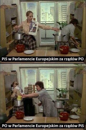 PiS vs PO w Parlamencie Europejskim