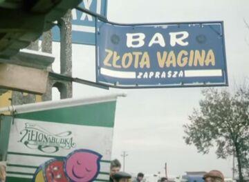 Bar złota vagina zaprasza