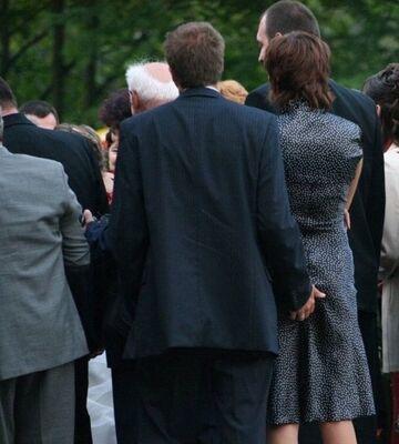 Wujek na pogrzebie