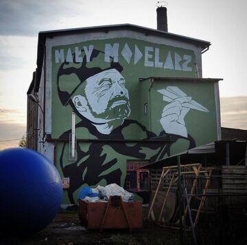 """Murla """"mały modelarz"""" Antoni Macierewicz - Warszawa"""
