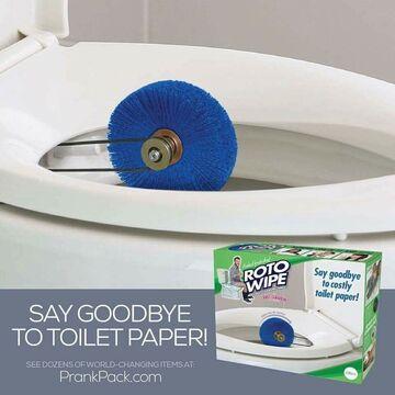 Zapomnij o papierze toaletowym, o to ROTO WIPE