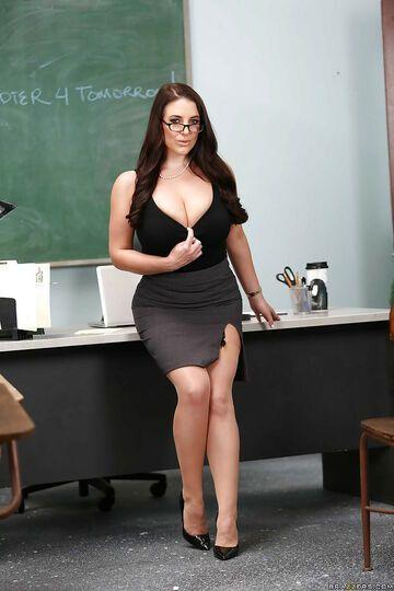 Krągła Pani Nauczycielka