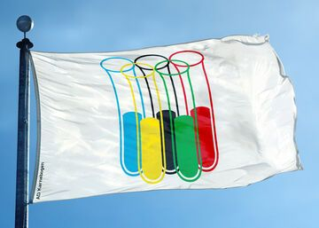 Rosyjska flaga olimpijska