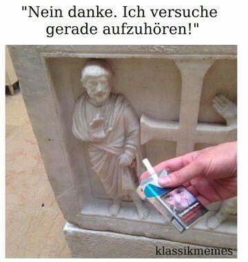 Dziękuję, nie palę.