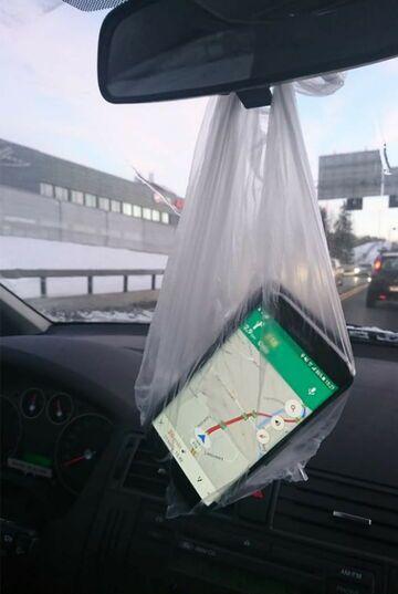 Uchwyt do nawigacji GPS
