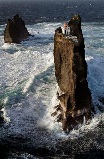 Najwyższa latarnia morska w Islandii