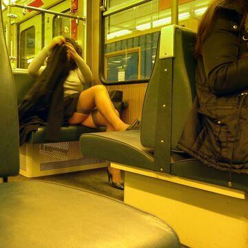 Pani z pociągu