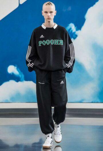 Adidas mózgu w nowych dziełach Goshi Rubchinsky'ego