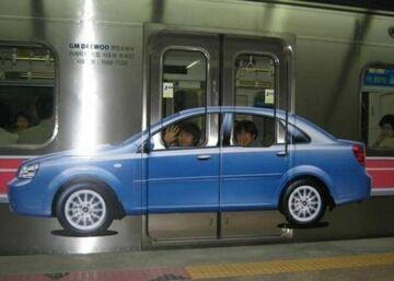 auto w metrze?