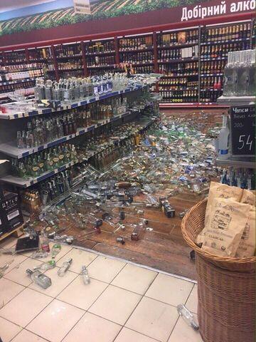 Katastrofa w dziale z alkoholem
