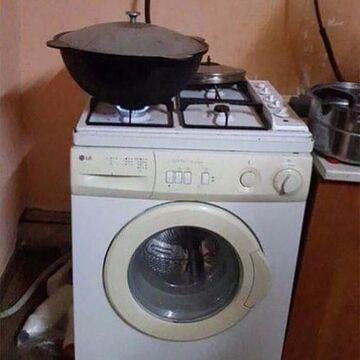 2 in 1 kuchenka i pralka