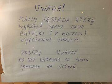 Ostrzeżenie z warszawskiego Bródna