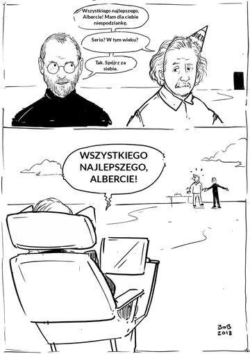 Jobs, Einstein i Hawking