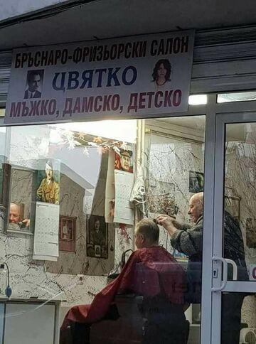 Najlepszy fryzjer w mieście!
