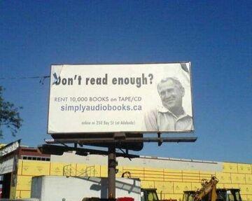 Don't read enough?
