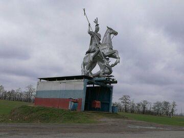 Przystanek autobusowy w Rosji