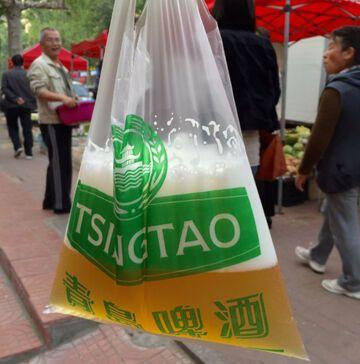 Picie piwa ze zrywki w Chinach to coś normalnego