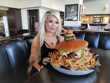 4,5 kilogramowy burger