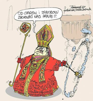 Od czarów i zabobonów zachowaj nas panie!!