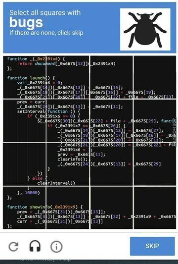 Captcha dla programisty
