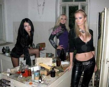 Laseczki na imprezie