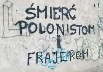 """""""ŚMIERĆ POLONISTOM i FRAJEROM"""""""