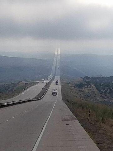 Autostrada I-80 w Wyoming