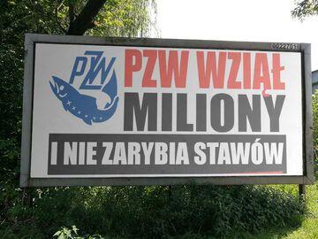 PZW wziął miliony i nie zarybia stawów