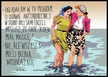 Program o ustawie aborcyjnej w telewizji
