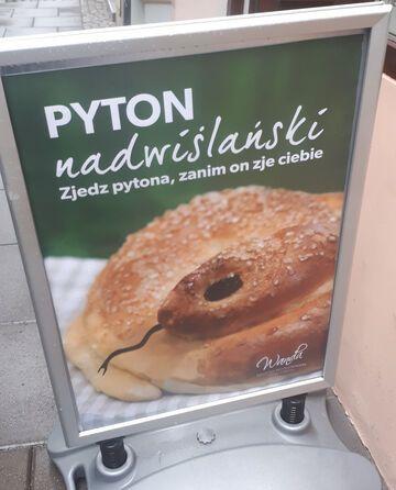 """""""Zjedz pytona, zanim on zje ciebie"""""""