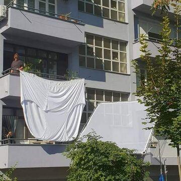 Teściowa wywiesiła pranie